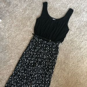 NWT Luxology Black Belted Jumpsuit